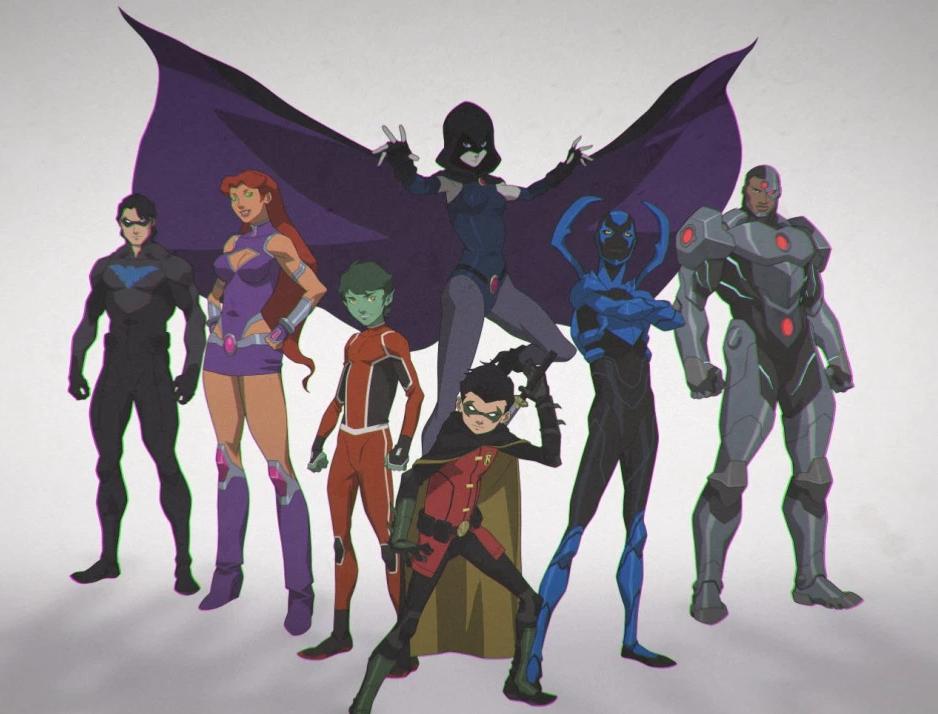 Teen Titans Dc Animated Movie Universe Wiki Fandom