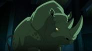Beast Boy as a Rhino