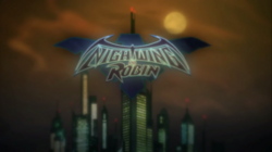 Nightwing and Robin logo