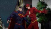 Barry saves Cyborg