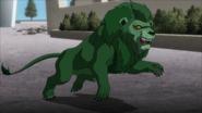 Beast Boy as a Lion