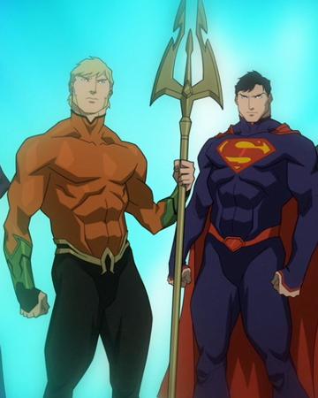 Justice League Dc Animated Movie Universe Wiki Fandom