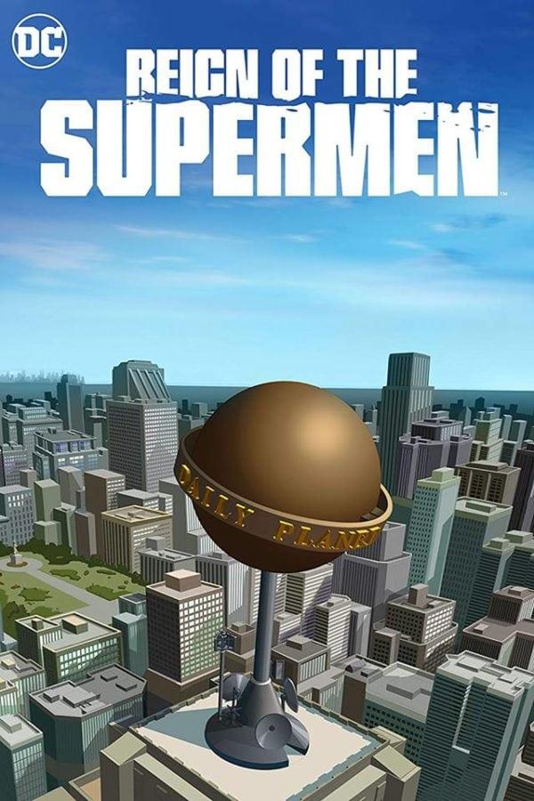 reign of the superman 2019 poster ile ilgili görsel sonucu