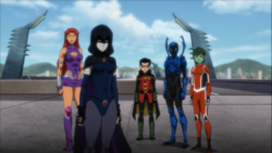 Teen Titans Second Formation