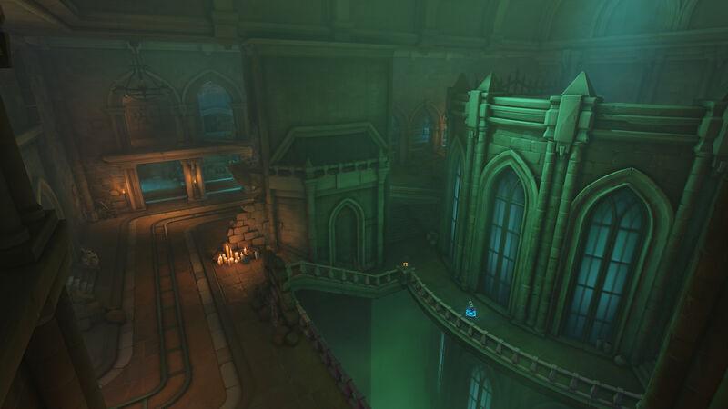 Overwatch's Blizzard World, Throne of the Skeleton King