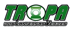 Logo Tropa dos Lanternas Verdes