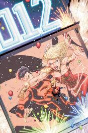 Moça-Maraviçha versus Superboy.