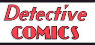 Detective Comics Vol 1 Golden Age Logo