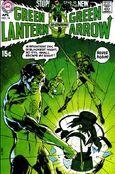 Lanterna Verde #76 de 1970 começou uma aclamada corrida pelo seu comentário social.