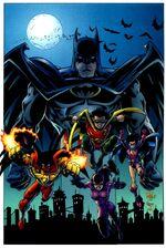 A Família Morcego dos anos 90