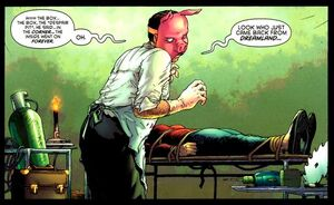 Professor Pyg é um cirurgião consumado e isso não é bom.