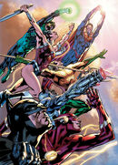 Justice League of America Vol 4 1 Textless