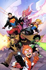 Young Justice Vol 3 1 Textless