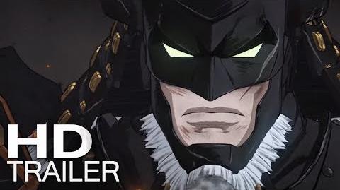 BATMAN NINJA Trailer (2018) Legendado HD