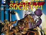Liga da Justiça Vol 2 23.4: Sociedade Secreta