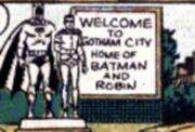 Gotham City Earth One