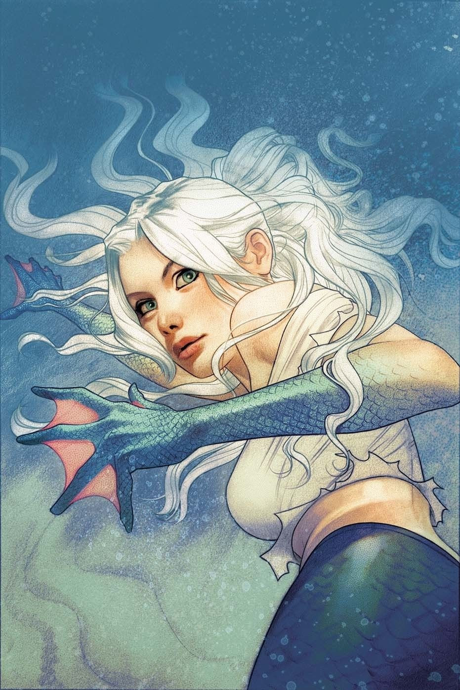 Aquaman Vol 8 26 Textless Variant