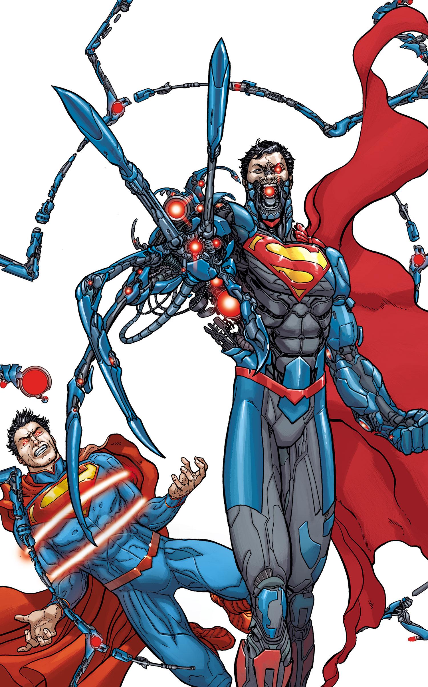 Action Comics Vol 2 23.1 Cyborg Superman Textless
