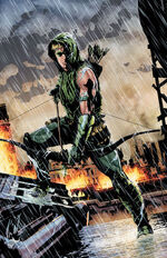 Arqueiro Verde, Terra Primal, Novos 52, Oliver Queen