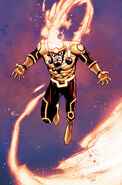 Firestorm The Nuclear Man United We Fall Textless