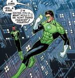 Hal recebe um anel de Sinestro.