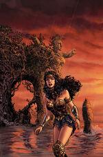 """Mulher Maravilha viaja para uma """"Themyscira"""" que ela não reconhece"""