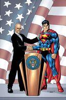 Luthor ganha a Presidência