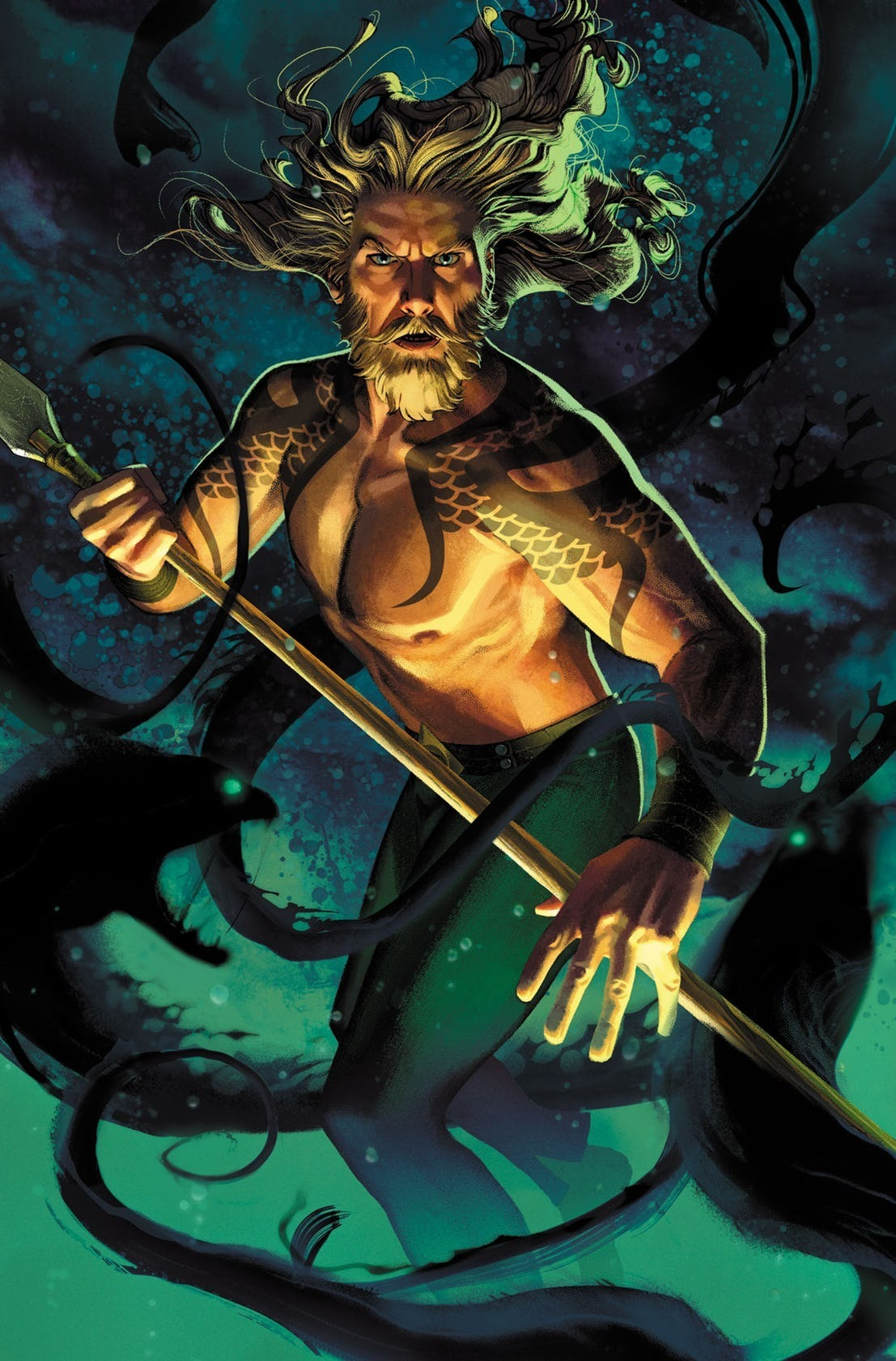 Aquaman Vol 8 48 Textless Variant