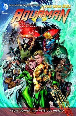 Capa de Aquaman: Os Outros Trade Paperback
