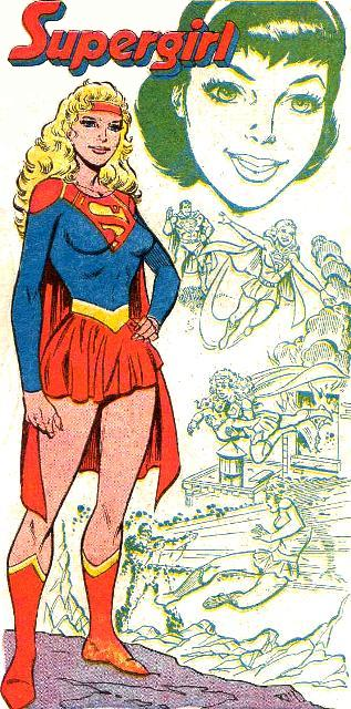 Supergirl Earth-One 001