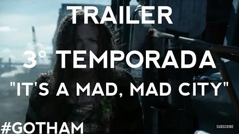 Victor damiãoRS/Gotham - Loucura toma conta da cidade no trailer da terceira temporada