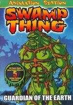 Swamp Thing Animated DVD Box