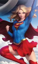 Supergirl Vol 7 12 Textless Variant
