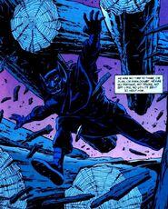 Bruce Wayne usa a Máscara de Tengu