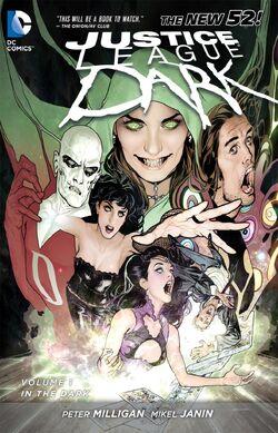 Capa de Liga da Justiça Sombria: No Escuro Trade Paperback