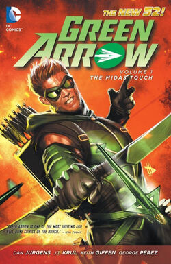 Green Arrow Vol 5 Midas TPB