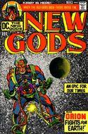 """Novos Deuses Novos Deuses foi o título principal de Jack Kirby """"Mitos do Quarto Mundo""""."""