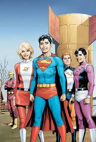 Superboy e a Legião dos Super-Heróis.