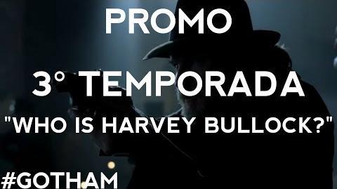 Victor damiãoRS/Gotham - Harvey Bullock com sangue nos olhos em novo vídeo