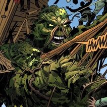 Thumb swamp thing dc bombshells