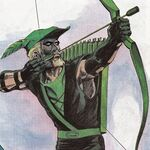 Green Arrow portret