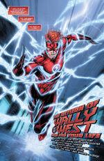 Depois de escapar da Força de Aceleração, Wally constrói um novo traje