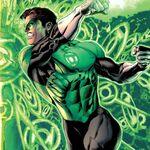 Green Lantern portret
