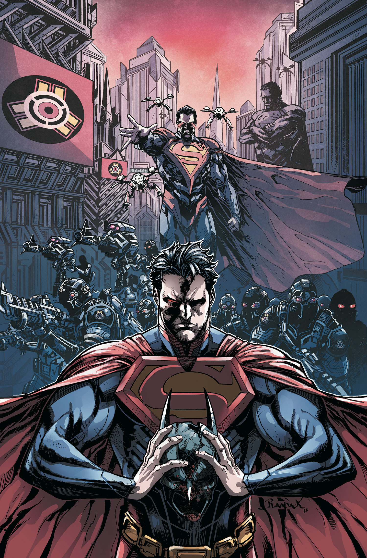 Injustice Year Two Vol 1 1 Textless