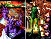 Green Arrow kills Prometheus