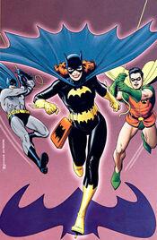 A estréia de Barbara Gordon como a Batgirl