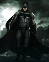 Batman com plano de fundo