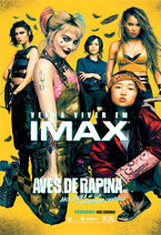 Pôster IMAX de 'Arlequina em Aves de Rapina'