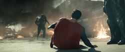 Superman enfrentando Faora e Nam-Ek