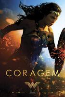 'Wonder Woman' pôster Coragem